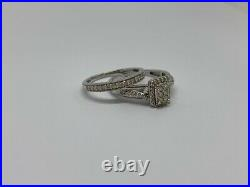 0.50ct Diamond 9ct White Gold Bridal Set By Perfect Fit H. Samuel