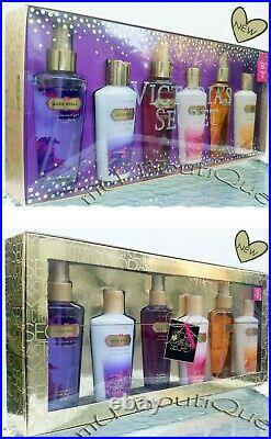 1 Victorias Secret 6 Pc Amber Romance Love Spell Pure Lotion Mist Large Gift Set