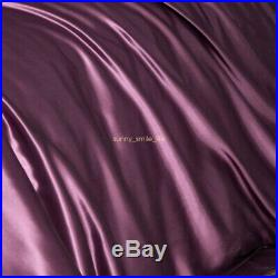 100% Pure Silk Comfort 1900 Count 4 Pcs Silk Bed Sheet Set Women Anti-Ageing