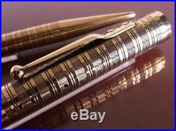 1920 Swan 14 Pure Gold Fountain Pen + Pencil Set