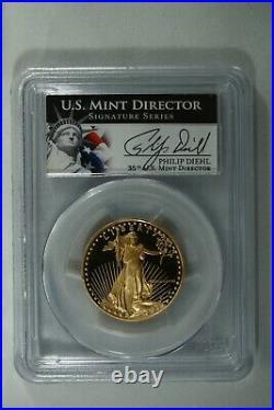 1988-P 3 Piece Proof American Gold Eagle Set PCGS PR70. Perfect