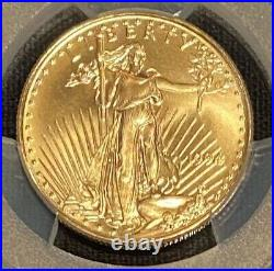 1994 $25 Half Ounce Gold Eagle Perfect Registry Set Pcgs Ms70