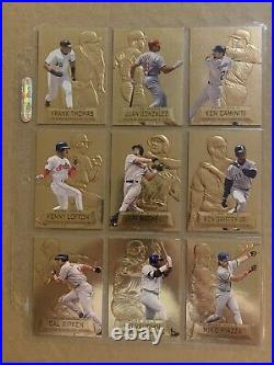 1997 Topps Stadium Club Pure Gold Complete 20 Card Set