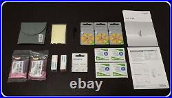 2 Brand New Siemens Signia Pure 7nx 10 Hearing Aids & Accessories Complete Set