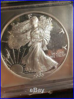 2000 S Platinum Gold and Silver 14 Coin Set All PERFECT