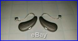 2019 2x Signia Siemens Pure 7Nx Charge&Go Rechargeable RIC Hearing Aids Set Pair