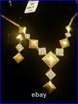 21K Solid Gold set 28.76 Grams brand new perfect gift
