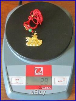24K pure Gold Korean. 999 Dol Doljanchi Dohl tol baby set 2000 jewelry birthday