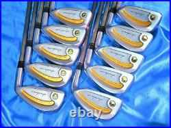 3star Perfect 10pc Gold Line HONMA NEW-LB280 R-FLEX IRONS SET Golf NWO