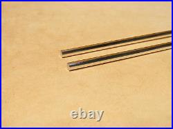 9999 Pure Silver Wire 4 Gauge, Two (2) Rods Guaranteed 99.99% Choose Size
