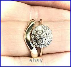 9CT Yellow Gold wedding set Engagement Wedding Diamond Perfect fit