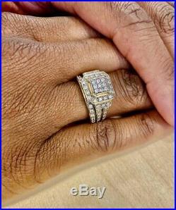 9ct Yellow Gold 1/3ct Diamond Perfect Fit Bridal Set