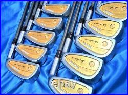 ALL GOLD 4STAR HONMA LB-606 Perfect 10PC R-FLEX IRONS SET GOLF CLUBS