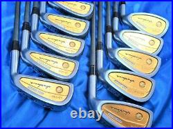 ALL GOLD 4STAR HONMA LB-606 Perfect 10PC R-FLEX IRONS SET GOLF CLUBS