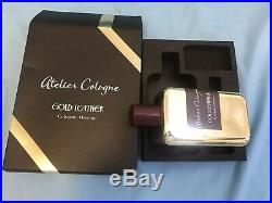 Atelier Cologne Gold Leather Cologne Absolue Pure Perfume 200ml of a Gift Set