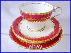 Aynsley 1930's Large Gilded Tea Set, Best Gold Quality, Perfect Condition