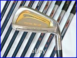 Beautiful Gold Perfect 10PC MARUMAN TITUS X-2 R-FLEX IRONS SET