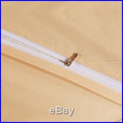 Bedding set 4pcs Satin jacquard pure cotton Duvet cover flat sheet 2 pillowcases