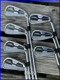 Bridgestone J15DPF Forged Iron Set 4-PW Dynamic Gold R300 R Flex Shafts Pure Gri