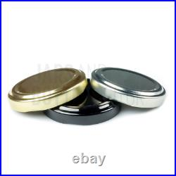 Bulk Set of 260ml Verrine jam jars perfect for pate, hummus, olives (Inc Caps)