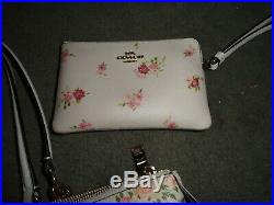 COACH PERFECT FIT TOTEBAG CARRYALL SET with WALLET & CLUTCH