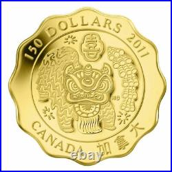 Canada 2009 2015 7 x 150$ BLESSINGS HAPPINESS 7 x 1/3 oz. Pure Gold Coin SET