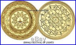 Canada 2015 2016 200$ Diwali Festival Of Lights 2 x 1 Oz Pure Gold Coin SET