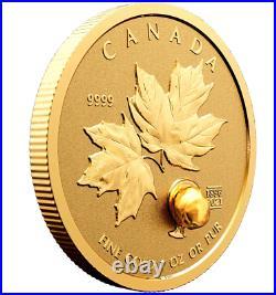 Canada 2021 125th Anniversary Klondike Gold Rush. 999 Pure Gold Fractional Set