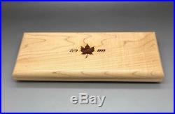 Canada Maple Leaf Set Limited Edition Gold Set 1 1/2 1/4 1/10 1/20 Oz Pure Gold