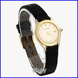 Carl F. Bucherer Ladys 18K Solid Yellow Gold Full Set' Perfect Condition