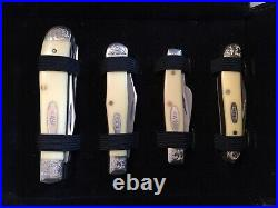 Case XX Pure Gold Mint Set Of 7 Knives