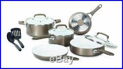 Cookware Set Wearever C944sa64 Pure Living Nonstick Ceramic Coating Ptfe-Pfoa-Ca
