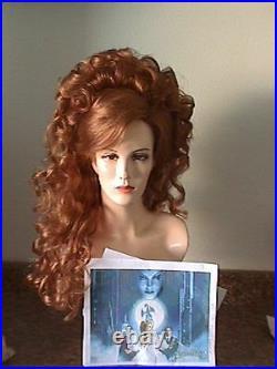 Elite Brand Wigs! Disney Belle Long Thick Beauty Perfect Set Curls Pick A Color