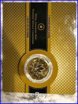 Elizabeth 2007 PROOF Royal Canadian Mint, 99999 Pure Gold Coin 1oz BU Certified