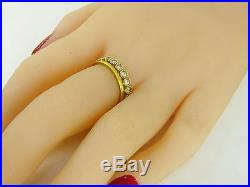 Engagement ring set, Wedding band, Pure gold wedding rings, wedding bands Women, 24K