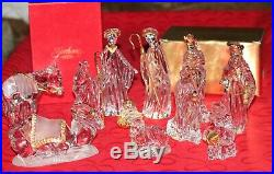 GORHAM Gold Nativity set-12 pc all in original boxes-perfect condition
