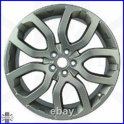 Genuine 20 Alloy Wheels in Satin Grey Gold for Range Rover Evoque dynamic pure