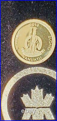 Gold Coin RCM Canada PURE GOLD 999 0.5 g World Achievements From Set- AUCTION