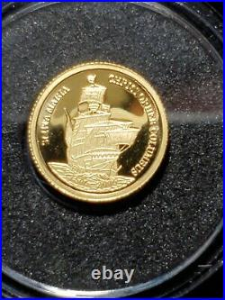 Gold Coin RCM Canada gold 999 Pure 0.5 g World Achievements From Set- AUCTION