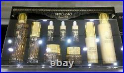 Gold Collagen 9 Piece Luxury Skin Care Set Anti-Ageing Bergamo Pure Gold KBeauty