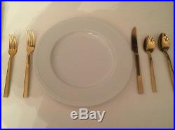 Gold Cutlery 30 piece set perfect for weddings