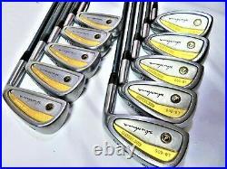 Gold Line HONMA LB-606 H&F 2star Perfect 10PC R-FLEX IRONS SET JP INV 6FR F59
