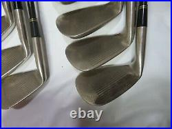 Gold MIURA Giken CB-2001 Perfect 10pc S-FLEX IRONS SET JP Limited INV 14FR C58