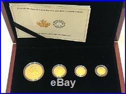 Gold Münzen 43,67g 2014 Pures Gold Set The Maple Leaf 999 Gold Art. 92582