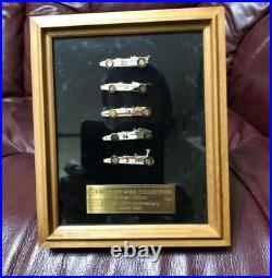 HONDA 50th Anniversary Pins Set F1 GP Pure gold plating