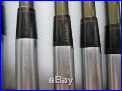 HONMA LB-606 H&F Gold Line 3SW perfect 10pc 4star R-flex Iron Set Golf club 137