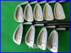 HONMA Ladies Iron Set New-LB280 Cavity 24K Pure Gold Package 4Star L 9ps