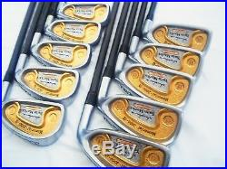 HONMA TWIN MARKS 2000-a S-FLEX PERFECT 10PC K18 GOLD 2-STAR IRONS SET