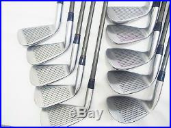 Honma Irons Set Golf Clubs Lb-606 H&f Gold Line Perfect 10pc 4-star R-flex