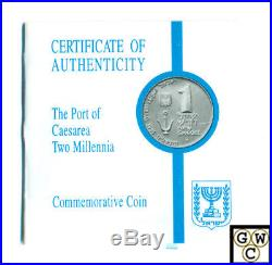 Israel 1995 set of 3 proof 1sh, 2sh Sterling Silver & 10sh Gold(1/2oz. Pure)OOAK